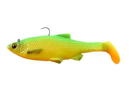 Savage Gear 3D Baitfish Paddletail Lure 4in