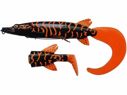 Savage Gear HP-250 3D Hybrid Pike - 10 in. Fire Tiger