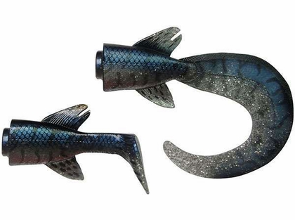 Savage Gear Hybrid Pike Tails f/ 10 in. Pike Fire Tiger