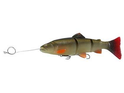Savage Gear PR-LTSS-200 Pre-Rigged 3D Line Thru Trout 8 in. Lure
