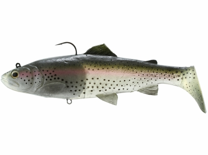 Savage Gear Shallow Runner 3D Real Trout - Ghost Trout