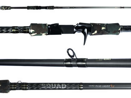 Savage Gear Squad Casting Rods
