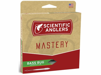Scientific Anglers Mastery Bass Bug Fly Line WF-8-F