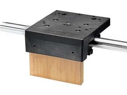 Scotty 1027 Rail Mount W/Stainless Steel Hardware