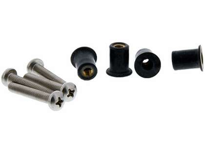 Scotty 133-16 Well Nut Mounting Kit - 16pk