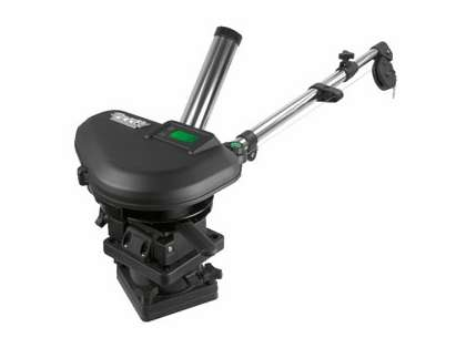 Scotty 2106 HP Depthpower Downrigger 60in Tele Boom w/ Base - Single