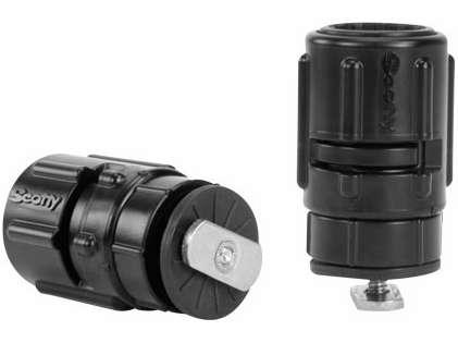 Scotty 438 Gear-Head Track Adapter - Single