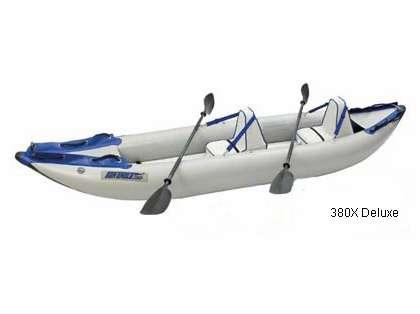 Sea Eagle 380X Inflatable Explorer Kayaks
