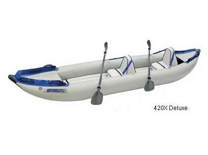 Sea Eagle 420X Inflatable Explorer Kayaks