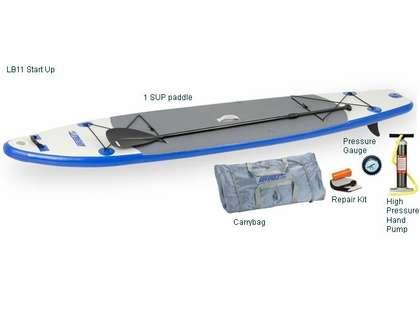 Sea Eagle LB11 SUP Inflatable Paddle Board Longboard