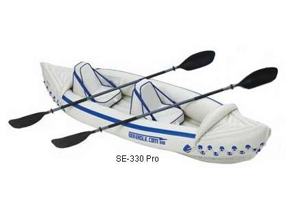 Sea Eagle Se-330 Deluxe Inflatable Sport Kayaks