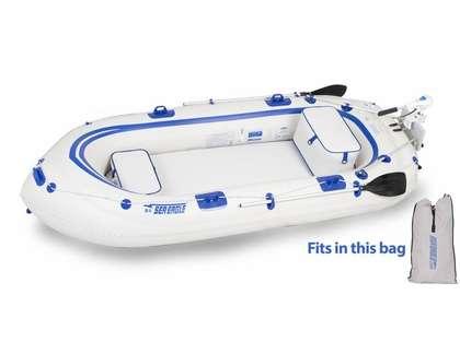 Sea Eagle SE-9 Fisherman's Dream Inflatable Motormount Boat