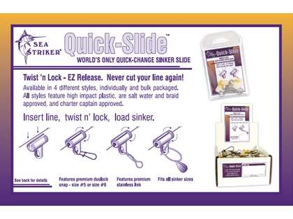 Sea Striker QSD-6P3 Quik Slide #6 Duolock Snap