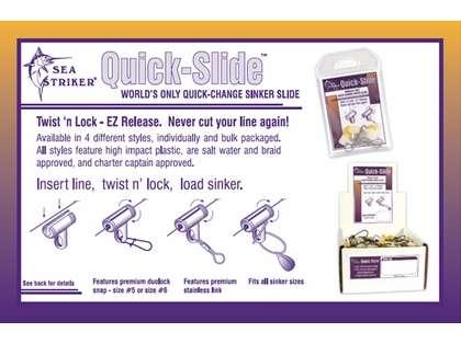 Sea Striker Quik Slide Duolock Snap