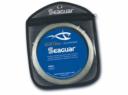 Seaguar Blue Label Big Game Fluorocarbon Leader 30yds