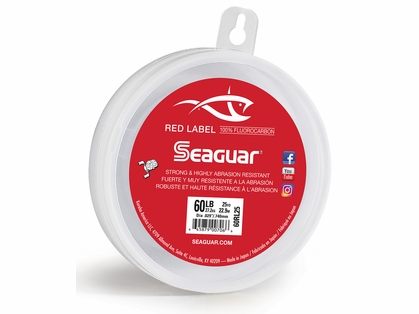 Seaguar 60RL25 Red Label Fluorocarbon Leader
