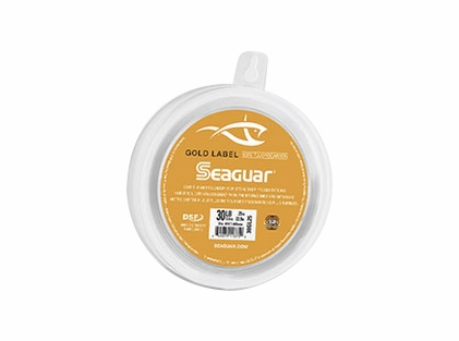 Seaguar Gold Label 100% Fluorocarbon Leader 25 Yards