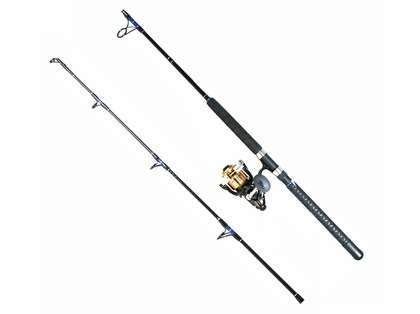 Shimano BTR8000D Baitrunner Reel/TackleDirect TDSBS701MH Custom Combo