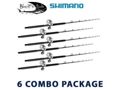 Shimano/Blackfin White Marlin Rod & Reel Package