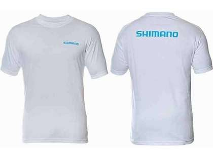 Shimano Brand Cotton Tee Short Sleeve White - X-Large