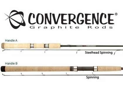 Shimano Convergence Salmon & Steelhead Spinning Rods