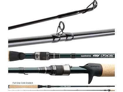 Shimano Crucial B Freshwater Casting Rods
