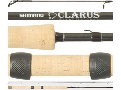 Shimano CSS113ML4B Clarus Center Pin Salmon & Steelhead Rod 4pc