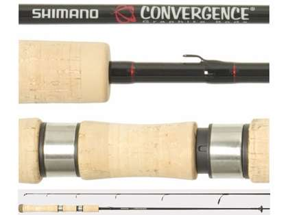 Shimano CVS66M2B Convergence Spinning Rod 2pc