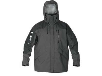 Shimano Dryfender 3T Jacket Charcoal - X-Large