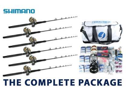 Shimano Economy White Marlin Complete Package
