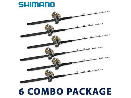 Shimano Economy White Marlin Rod & Reel Package