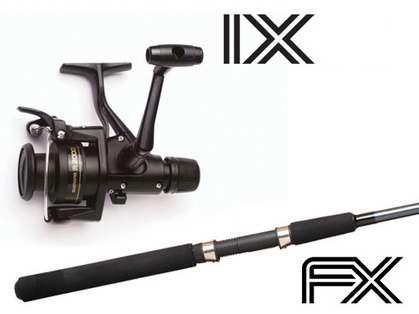 Shimano IX/FX Spinning Combo IX2000R/FXS66MB2