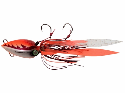 Shimano JLC080 80g/3oz Lucanus Jig Lures Orange/White