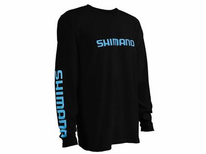 Shimano Logo Cotton Long Sleeve T-Shirts