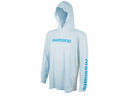 Shimano Long Sleeve Hood Tech T-Shirts