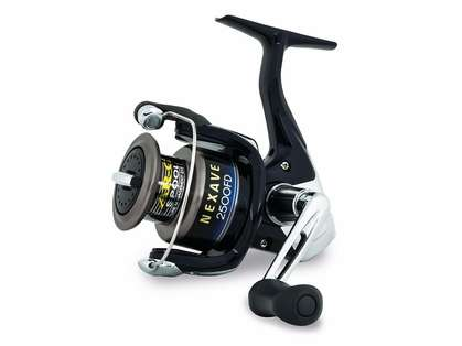 Shimano NEX2500FD Nexave FD Spinning Reel - Clam Pack