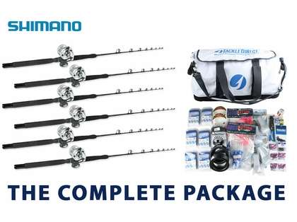 Shimano Premier White Marlin Complete Package