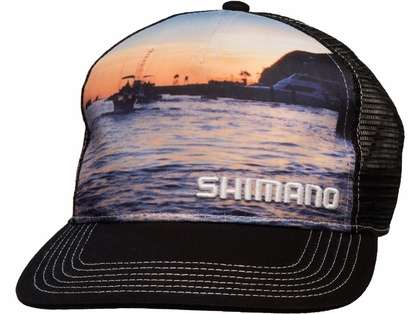 Shimano Sublimated Trucker Hat