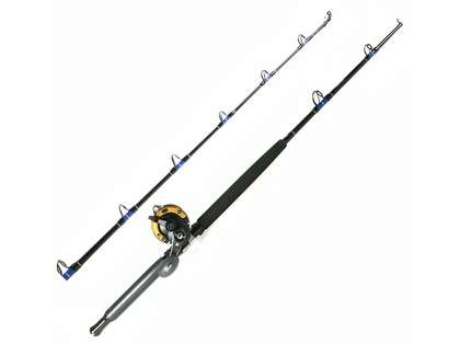 Shimano TLD30IIA Reel / TackleDirect TDSSUT601MHSB Custom Combo