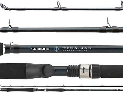Shimano TMCE66M Teramar Inshore Northeast 6ft 6in Casting Rod