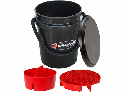 Shurhold 2462 One Bucket Kit - 5 Gallon - Black