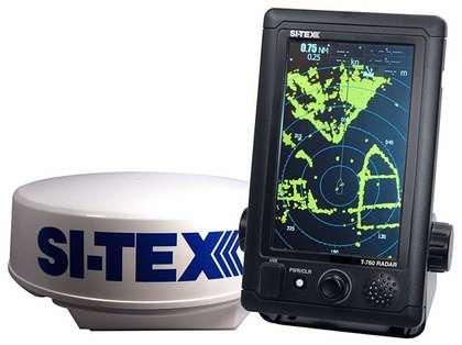 SI-TEX T-761 7'' Touchscreen Radar System w/ 4kW 24'' Dome