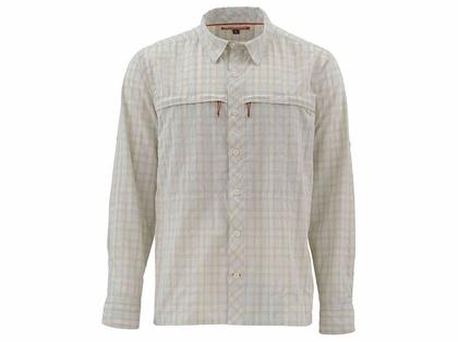 Simms PG-10801 Stone Cold Shirt - Birch Plaid Small