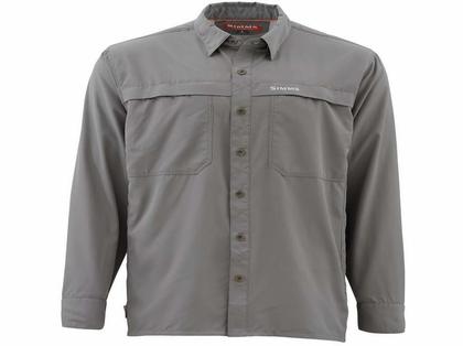 Simms PG-10802 EbbTide LS Shirt - Pewter Large
