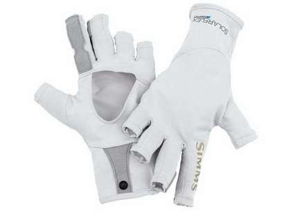 Simms PG-10489 Solarflex Sun Glove - Grey
