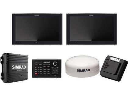 Simrad 000-11540-001 NSO evo2 Dual 19 in. Multi-Touch Monitor Bundle