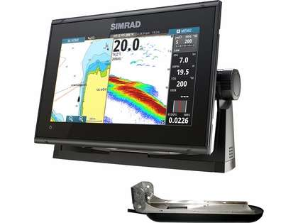 Simrad GO9 XSE Chartplotter/Fishfinder w/ TotalScan Transducer