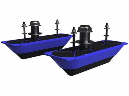 Simrad 000-13560-001 StructureScan 3D Thru-Hull Transducer - Pair