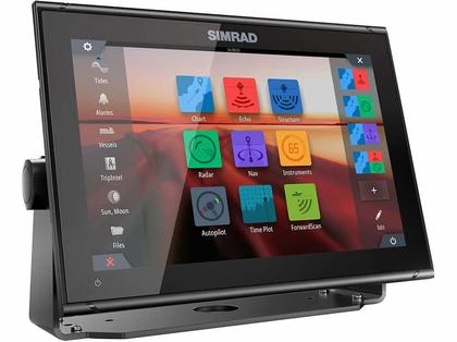 Simrad 000-14137-001 GO12 XSE Combo - w/ Basemap