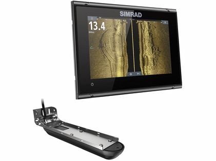 Simrad 000-14838-001 GO7 XSR Combo w/ 3-in-1 Transducer & C-MAP Pro